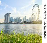 view of central singapore from... | Shutterstock . vector #439363576