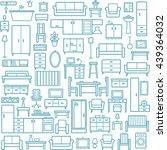 vector seamless pattern... | Shutterstock .eps vector #439364032