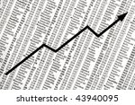 NEW YORK - DECEMBER 31:  Stock market closes up for the year, giving hope to those looking for recovery in 2010, on December 31, 2009 in New York. - stock photo