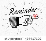 human vintage hand drawing with ... | Shutterstock .eps vector #439417102