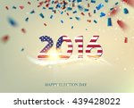 election day sign. | Shutterstock .eps vector #439428022