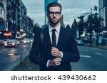modern businessman. confident... | Shutterstock . vector #439430662