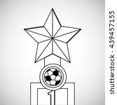 soccer design. football icon....   Shutterstock .eps vector #439457155