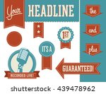 vector design elements for use... | Shutterstock .eps vector #439478962