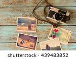 photo album of remembrance ... | Shutterstock . vector #439483852