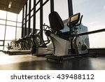 fitness room with fitness... | Shutterstock . vector #439488112