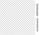 abstract monochrome geometric... | Shutterstock .eps vector #439496632