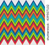 zigzag pattern in retro colors  ... | Shutterstock .eps vector #439507132