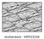 vector abstract leaves pattern... | Shutterstock .eps vector #439515136