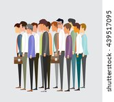 group people business... | Shutterstock .eps vector #439517095