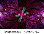 Abstract Colorful Floral...