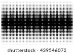 large rough halftone pattern in ... | Shutterstock .eps vector #439546072