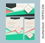 creative editable layout for... | Shutterstock .eps vector #439551106