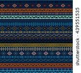 ethnic boho  aztec seamless... | Shutterstock .eps vector #439551535