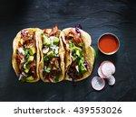 Three Mexican Pork Carnitas...