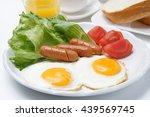 Healthy Breakfast With Fresh...