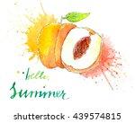 watercolor illustration of...   Shutterstock . vector #439574815