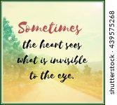 inspirational motivational life ...   Shutterstock . vector #439575268