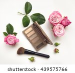 decorative flat lay composition ... | Shutterstock . vector #439575766