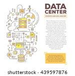 vector creative concept... | Shutterstock .eps vector #439597876