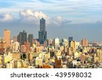 view of the city in kaohsiung   ... | Shutterstock . vector #439598032