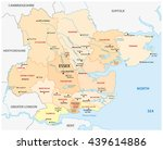 vector administrative map of... | Shutterstock .eps vector #439614886