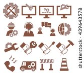 Technical Support Icon Set