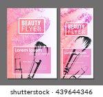 makeup artist business card....