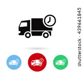 delivery vector  icon | Shutterstock .eps vector #439661845