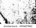 grunge dust speckled sketch... | Shutterstock .eps vector #439687882