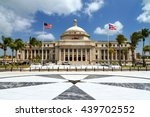 the capitol of puerto rico ... | Shutterstock . vector #439702552
