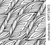 vector black and white... | Shutterstock .eps vector #439715872