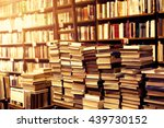 used books in the bookstore | Shutterstock . vector #439730152