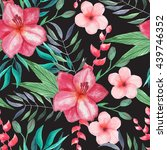 seamless pattern with... | Shutterstock . vector #439746352