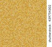 gold seamless pattern  dot... | Shutterstock .eps vector #439754302