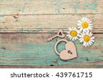 Background With Daisies  Lock...