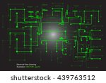 electrical drawing vector | Shutterstock .eps vector #439763512