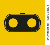 virtual reality glasses icon | Shutterstock .eps vector #439785076