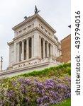 Small photo of ROME, ITALY - APRIL 9, 2016: Altar of the Fatherland (Altare della Patria) 1925. Piazza Venezia . Vittorio Emanuele II in Rome, Italy