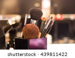 professional makeup brush | Shutterstock . vector #439811422