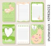 Cute Happy Cow Cards. Cute...