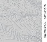 topographic map background... | Shutterstock .eps vector #439834675
