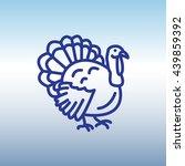 web line icon. turkey | Shutterstock .eps vector #439859392
