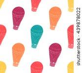 raster copy. seamless pattern... | Shutterstock . vector #439878022