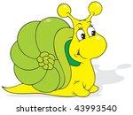 snail | Shutterstock .eps vector #43993540
