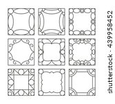 template square photo frames....   Shutterstock .eps vector #439958452