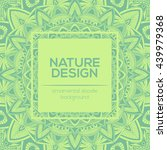 vector nature decor for your... | Shutterstock .eps vector #439979368