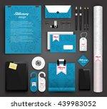 stationery design   identity... | Shutterstock .eps vector #439983052