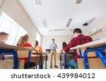 education  school  teaching ... | Shutterstock . vector #439984012