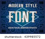 vector handy crafted modern... | Shutterstock .eps vector #439985572